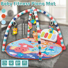 Large Baby Game Pad Music Pedal Piano Music Fitness Rack Crawling Mat Safety US