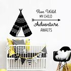 Wall Vinyl Adventure Waterproof Wall Stickers Home Decor For Kid Room Decoration