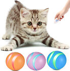 Control LED Lights Smart Bounce Ball Cat  Puppy Pet Toy Interactive Toys
