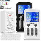 OSITO 25Modes TENS Unit Machine Muscle Therapy 50Intensity Pain Relief Gift Pac