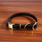 Adjustable Leather Collar Buckle Necklace Creative Simple Necklace for Pet Cat D
