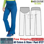 Med Couture Scrubs MATERNITY Women's Comfortable Maternity Waist Panel Pant 8727