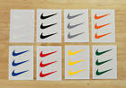 x3 Nike Iron On Swoosh Logos 2' Inches HTV FREE SHIPPING easy to apply set of 3