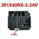 JR1930RX 24V Receiver and RC for Kids Electric Car 2.4G Bluetooth Transmitter