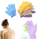 1PC Skin Bath Gloves Exfoliating Wash Skin Shower Spa Body Scrubber Massage ca
