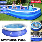 8/10FT Large Family Swimming Pool Outdoor Garden Inflatable Kids Paddling Pools