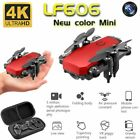 Mini Drone with 4K Camera HD Foldable Drones One-Key Return FPV Quadcopter RC