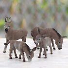 Donkey Model Convenient Delicate Animal Wild Donkey Toy Home