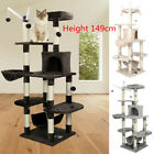 Cat Climbing Tower Deluxe Cat Tree Sisal Scratching Post Scratchers Activity