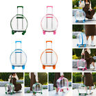 Pets Carrier Outing Backpack Astronaut Trolley Case Fat Cat Bag Transparent