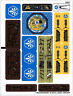 Lego Legends Of Chima STICKER SHEET ONLY for Lego Set 70010 The Lion CHI Temple