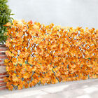 Garden Artificial Laurel Leaf Trellis Walls Expanding Screen Privacy Fence Yard