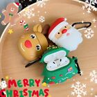 Christmas Silicone Case 4 AirPods Charging Charger Case Santa Reindeed Xmas Tree
