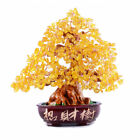 Crystal Lucky Money Fortune Tree Wealth Home Office Decoration Gifts Tabletop Au