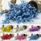 Artificial Cherry Blossom Silk Flower Bouquets Table Home Wedding Party Decor Uk
