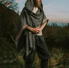 Medieval Hooded Cosplay Costumes Men Slayer Cape Victoria Viking Pirate