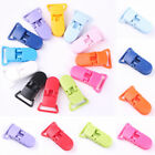 10Pcs Baby Dummy Plastic Pacifier Clip Holder Soother Pacifier Chain Making Lot
