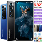 6.82 Inch Unlocked Smartphone Android 5.1 Real 1+8 Gb Phone Dual 3g 4g Sim Card