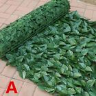 Artificial Fake Ivy Leaf Foliage Privacy Fence Screen Garden Panel Hedge Decors