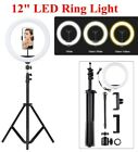 """18"""" LED Dimmable Ring Light with Tripod Stand & Phone Holder Youtube Live Lamp"""