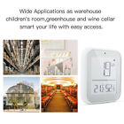 Smart Brightness Thermometer Real-time Light Sensitive Temperature Detector