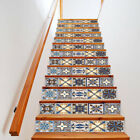 13X Stair Riser Staircase Stickers Mural Vinyl Wall Tiles Decals Self Adhesive