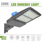 Outdoor LED Parking lot Light 200/300 Watt Dusk to Dawn, with Photocell Control