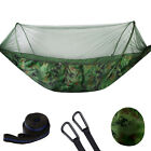 250x120cm Double Person Camping Hammock with Mosquito Net Breathable Folding S