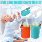 Baby Bottle Warmer Infant Feeding Bottle Heated Cover Thermostat Heater Home