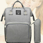 LEQUEEN Waterproof Baby Nappy Diaper Bag Mummy Maternity Travel USB / NEW