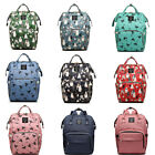 LEQUEEN Mummy Backpack Large Maternity Baby Nappy Diaper Bag Travel Rucksa