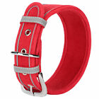 4 Colors Breathable Leather Collar Dog Puppy Collar Decor Size S M L Pets Gifts