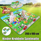 Baby Kid Play Mat Toddler Play Crawl Carpet PE Cotton Soft Game Floor  ds