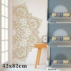 Mandala In Half Wall Sticker Wall Decal Decor Art Removable Room Home Mural