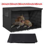 24-48 inch Pet Dog  Cage Crate Waterproof Heavy Duty Black/White Beige Covers