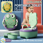 Portable Baby Potty Kids Children Training Toilet Trainer Stool With Cushio