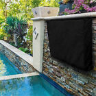 Outdoor+Waterproof+Dust-proof+TV+Cover+For+LCD+LED+Black+Television+Protector