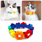 Pet Collar Flower Decor Comfortable Lovely Beautiful for Pet Accessories