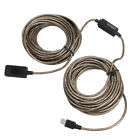 USB 2.0 Male To Female Extension Line Cable High Speed Wire Data Adapter