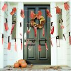 Party Decorations Supplies Bloody Garland Halloween Party Halloween Banner
