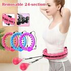 24 Knots Fitness Smart Hula Sport Hoop Detachable Weighted Hoops Lose Weight