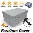 □waterproof Outdoor Furniture Cover Yard Uv Garden Table Chair Shelte Au^