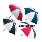 "ALL WEATHER 48"" AUTO OPEN UMBRELLA ASSORTED COLORS NEW"