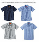 SALE WHOLESALE LOT 12 ASST NEW Uniform WORK SHIRT U PIC Size Red Kap Dickies 2nd