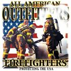 "Firefighters ""PROTECTING THE USA"" 50/50 Gildan/Jerzees T SHIRT"