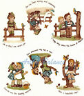 Ceramic Decals Old Time Children Scenes w/Graphic image