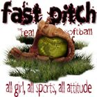 "Girls Sports ""FASTPITCH SOFTBALL..ALL GIRL ALL SPORTS"" 50/50 Gildan/Jerzees T"
