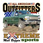 "American Trucks "" MUD BOGGIN SPORTS "" 50/50 Gildan/Jerzees T SHIRT"