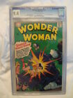 July 1966 WONDER WOMAN Comic Book #163 CGC 9.4 Off-white/White Pages