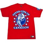 WWE JOHN CENA PERSEVERE CENATION RED T-SHIRT ALL SIZES